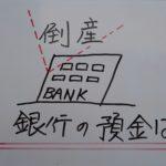 金融機関が破綻したら⁉️